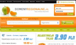 Domeny regionalne